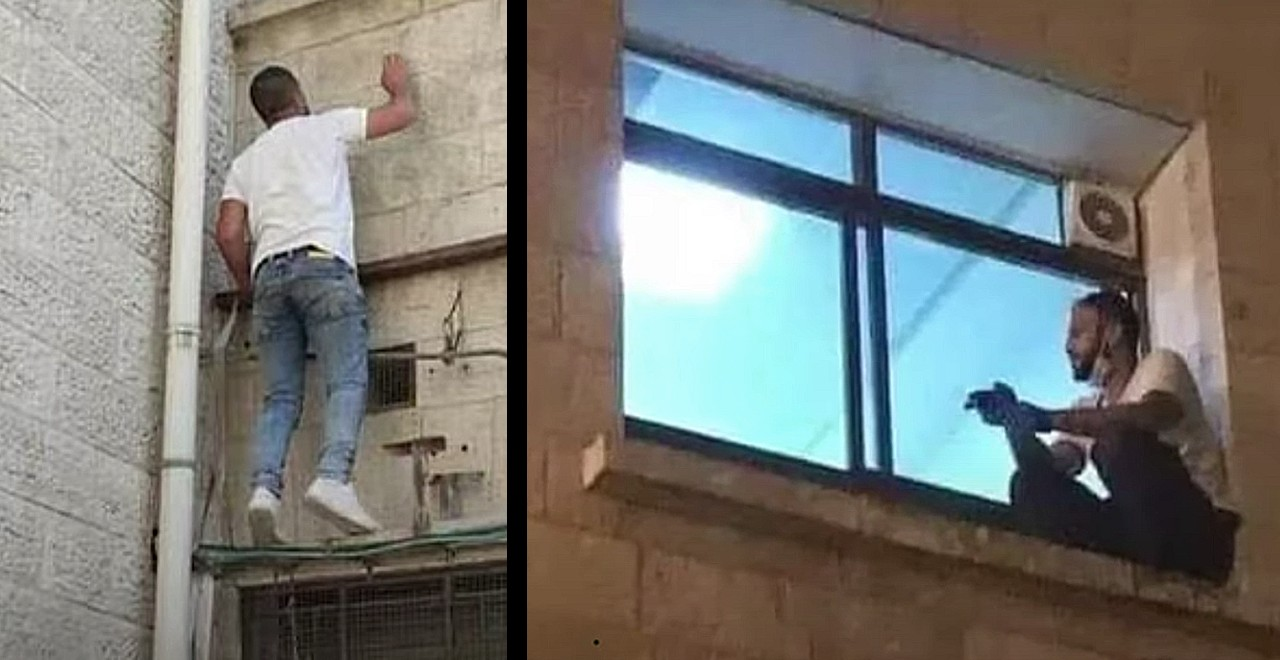 Devoted Son Scales Hospital Wall to Be With Dying Mother