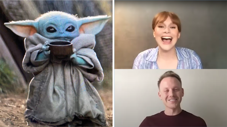 Bryce Dallas Howard Talks The Mandalorian and Baby Yoda's Soup [WATCH]