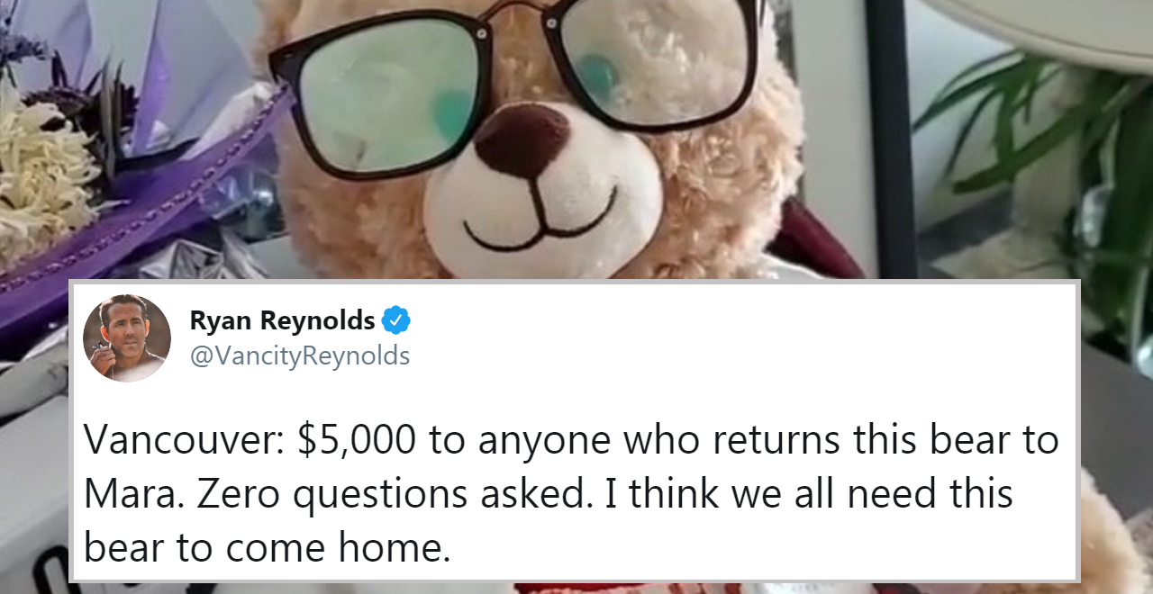 Ryan Reynolds Bear Bounty