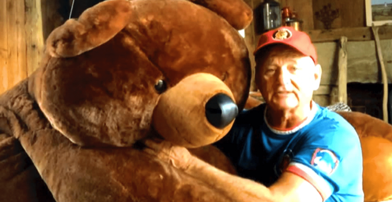 Bill Murray and Bear 7th Inning