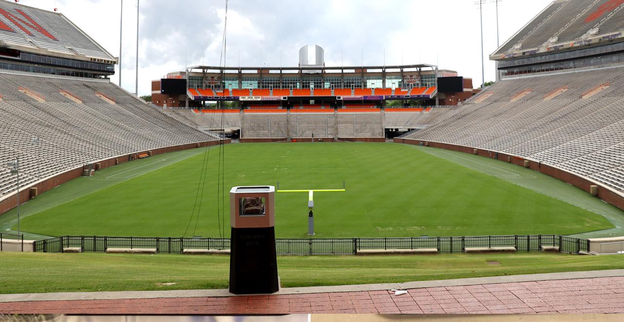 Empty College Stadium