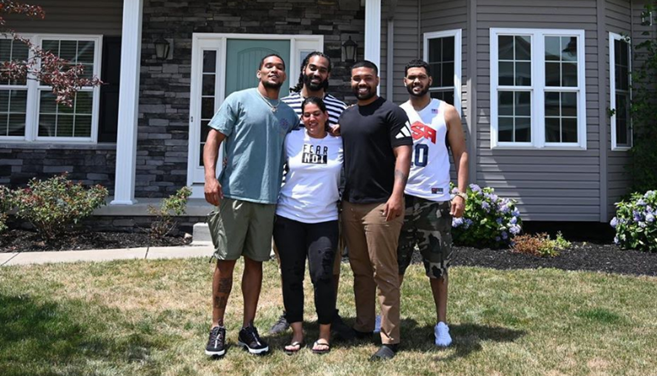 James Conner Buys Mom New Home