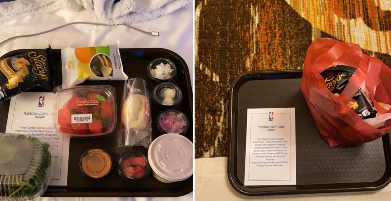 Orlando Bubble Meals