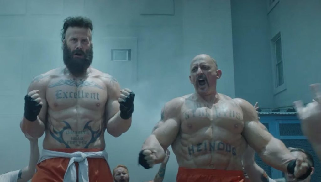 Muscular Bill & Ted 3