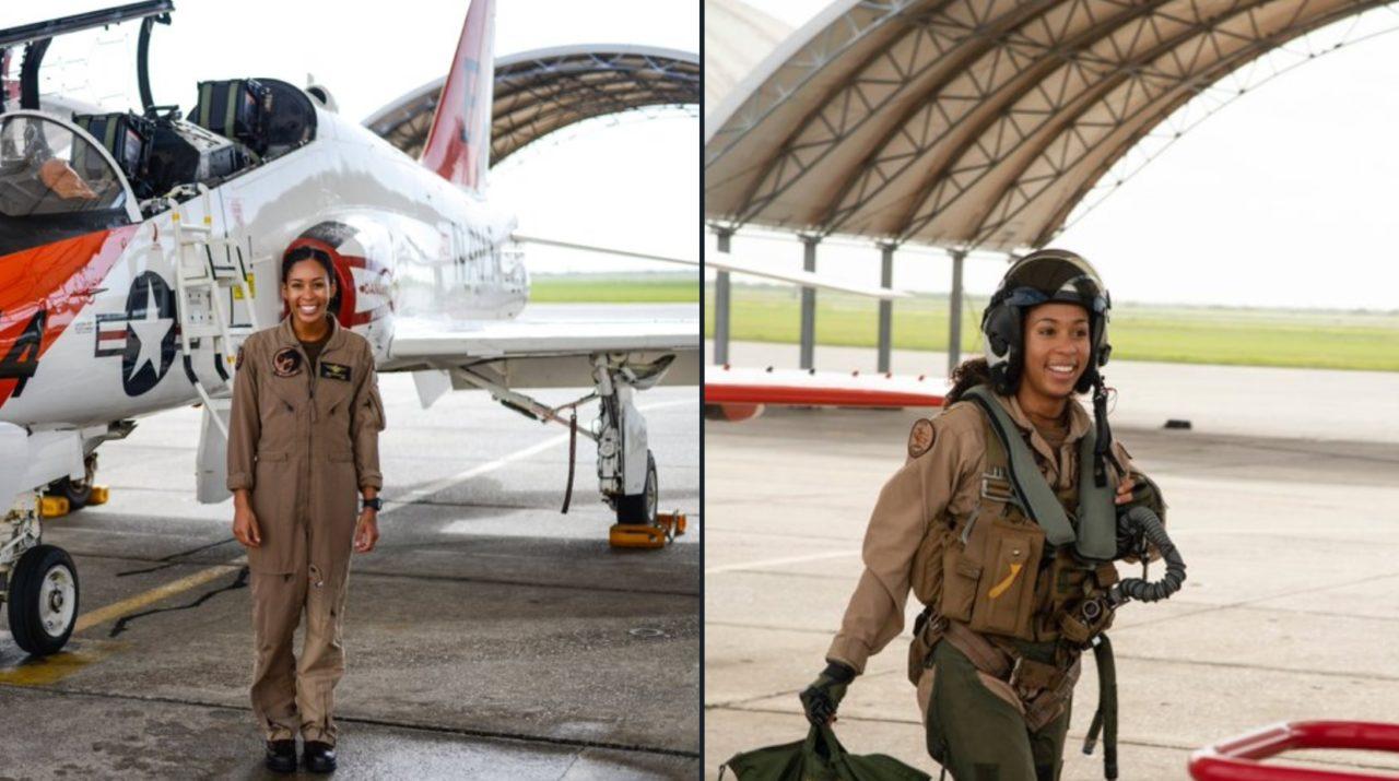 Madeline Swegle Fighter Pilot