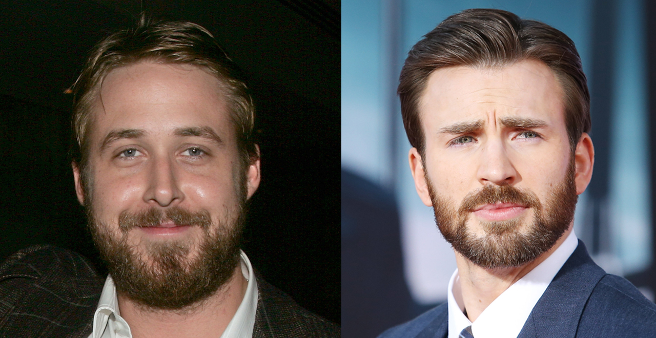 Gosling and Evans in The Gray Man