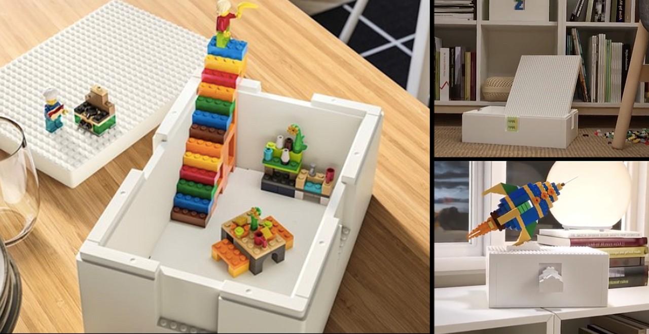 IKEA and LEGO unite to release BYGGLEK Storage