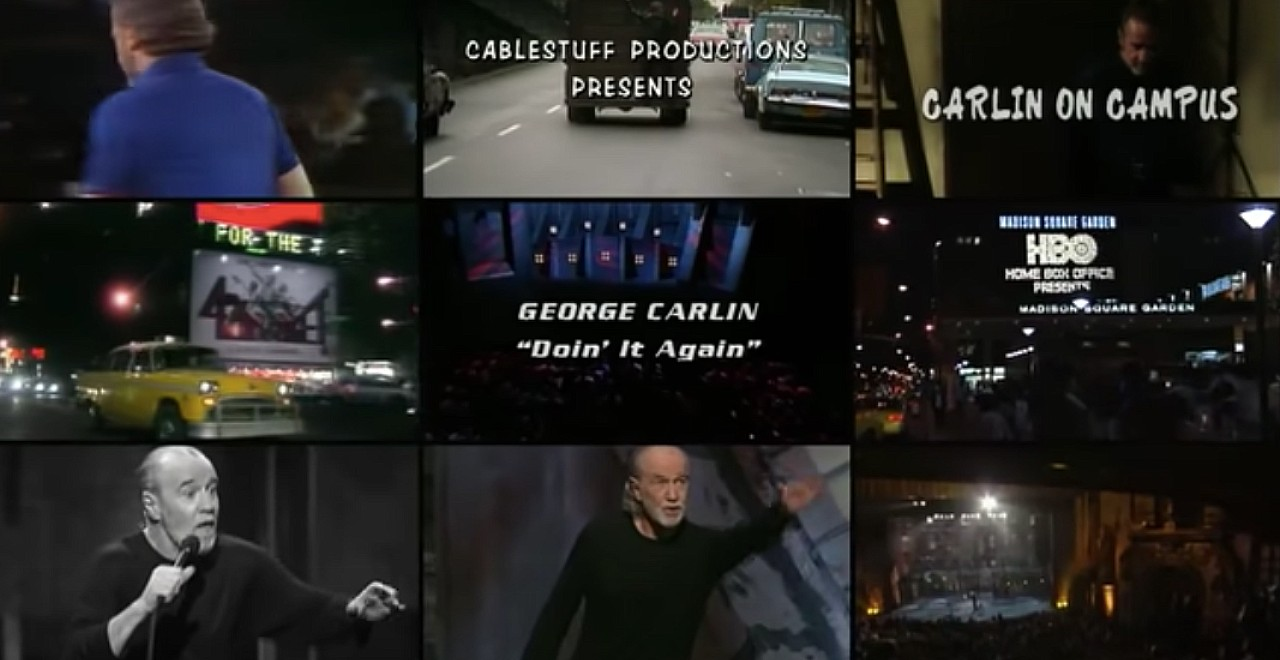Two-Part George Carlin Documentary Coming to HBO