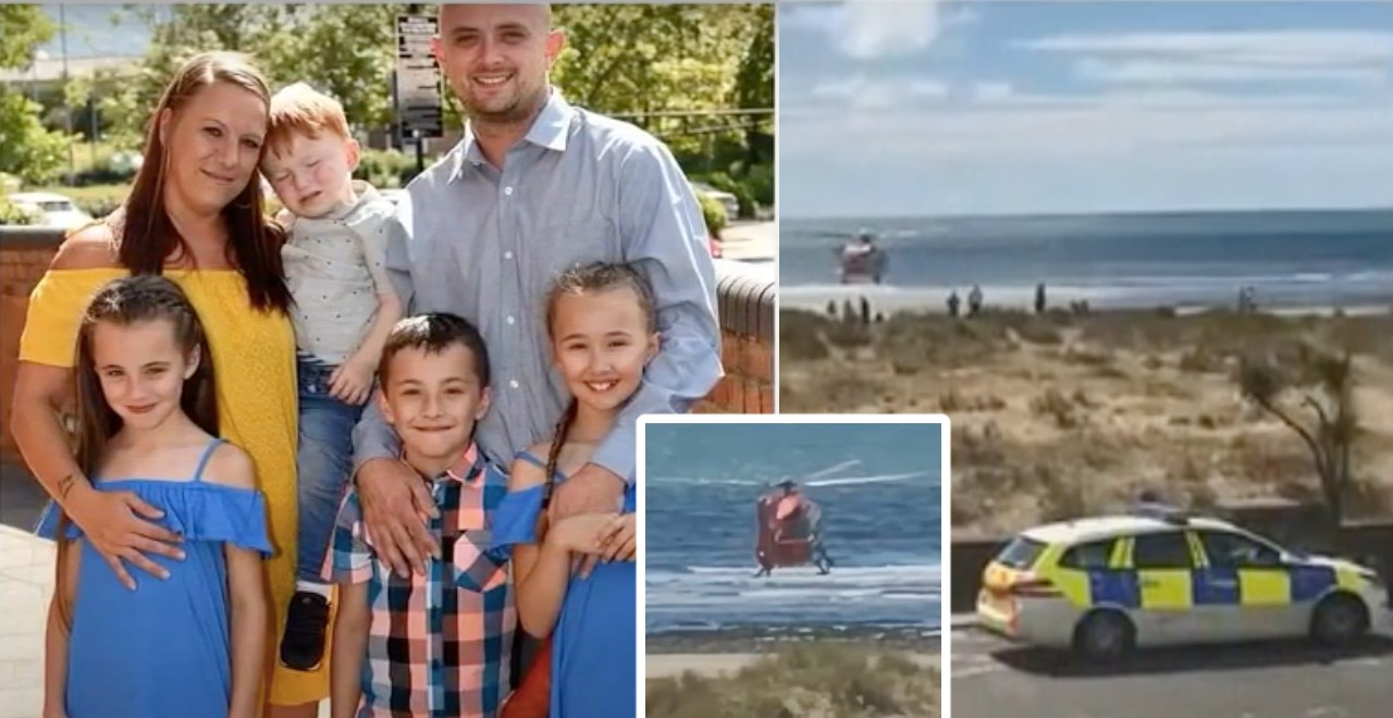 Heroic Father of 7 Dies Saving His Kids From a Riptide