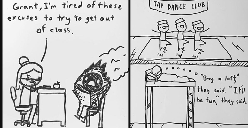 Dad Shares 14-Year-Old's Comics and the Internet Loves Them