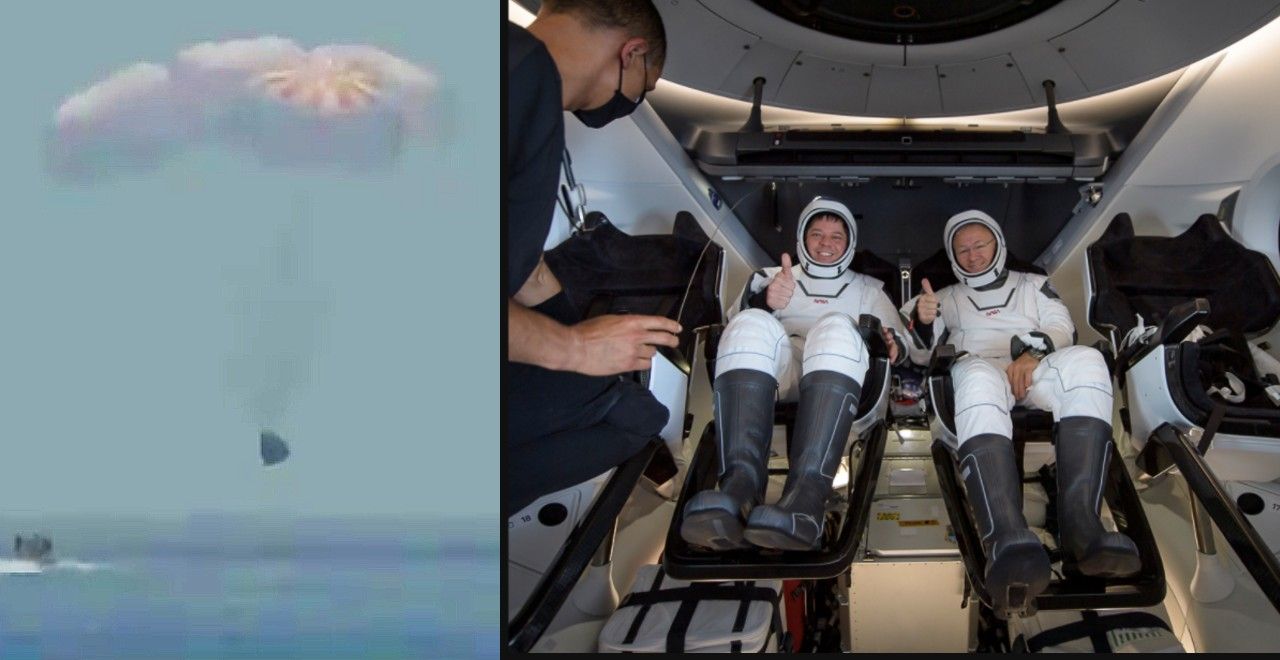 NASA Dads' SpaceX Mission Was a Splashing Success