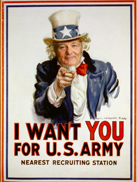 Bill Murray Uncle Sam