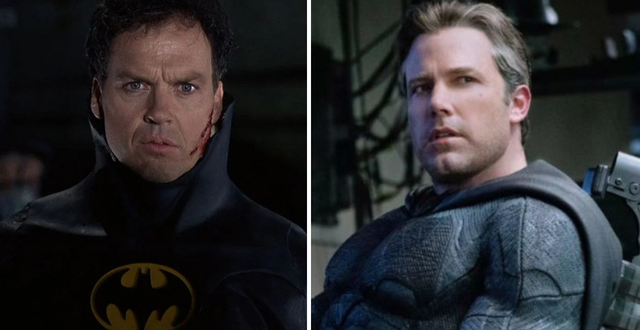 Keaton and Affleck are Back as Batman