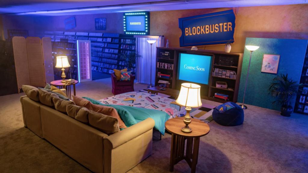 Blockbuster Airnbnb