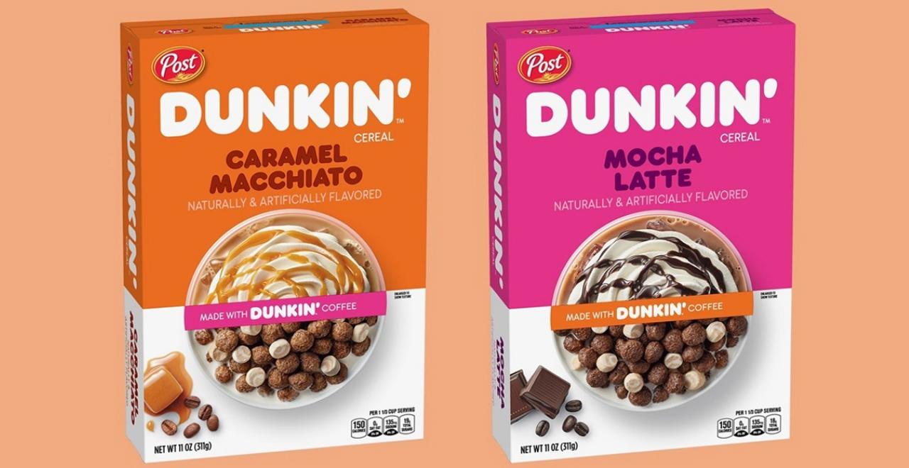 Dunkin' Cereals