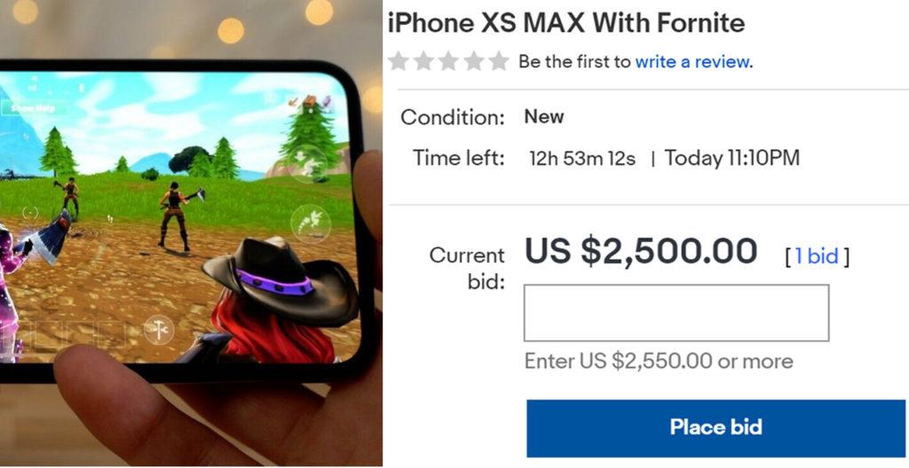 fornite iphone on eBay