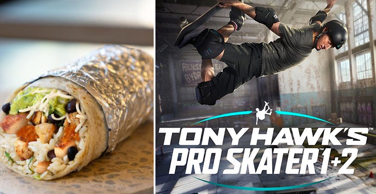 Tony Hawk Burrito