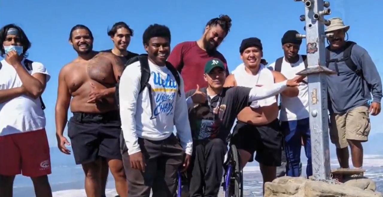 Football Team Mountain Wheelchair