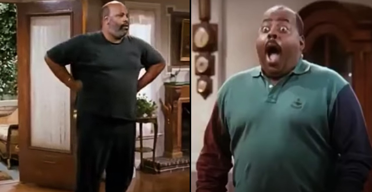 Uncle Phil crashes Family Matters set
