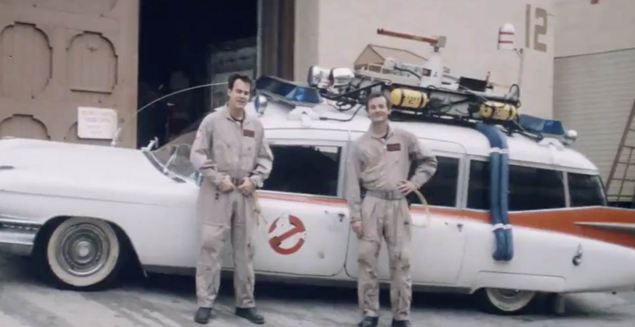 Unearthed Ghostbusters Promo