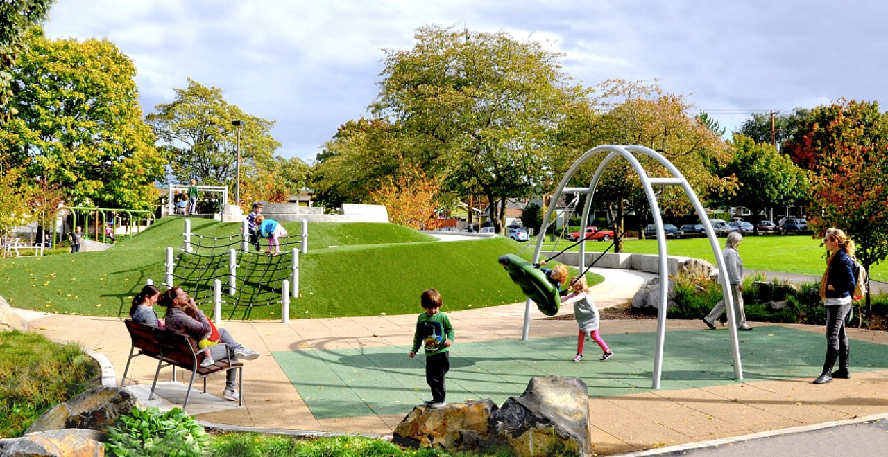 Dad founds Harpers Playgrounds to make play more inclusive
