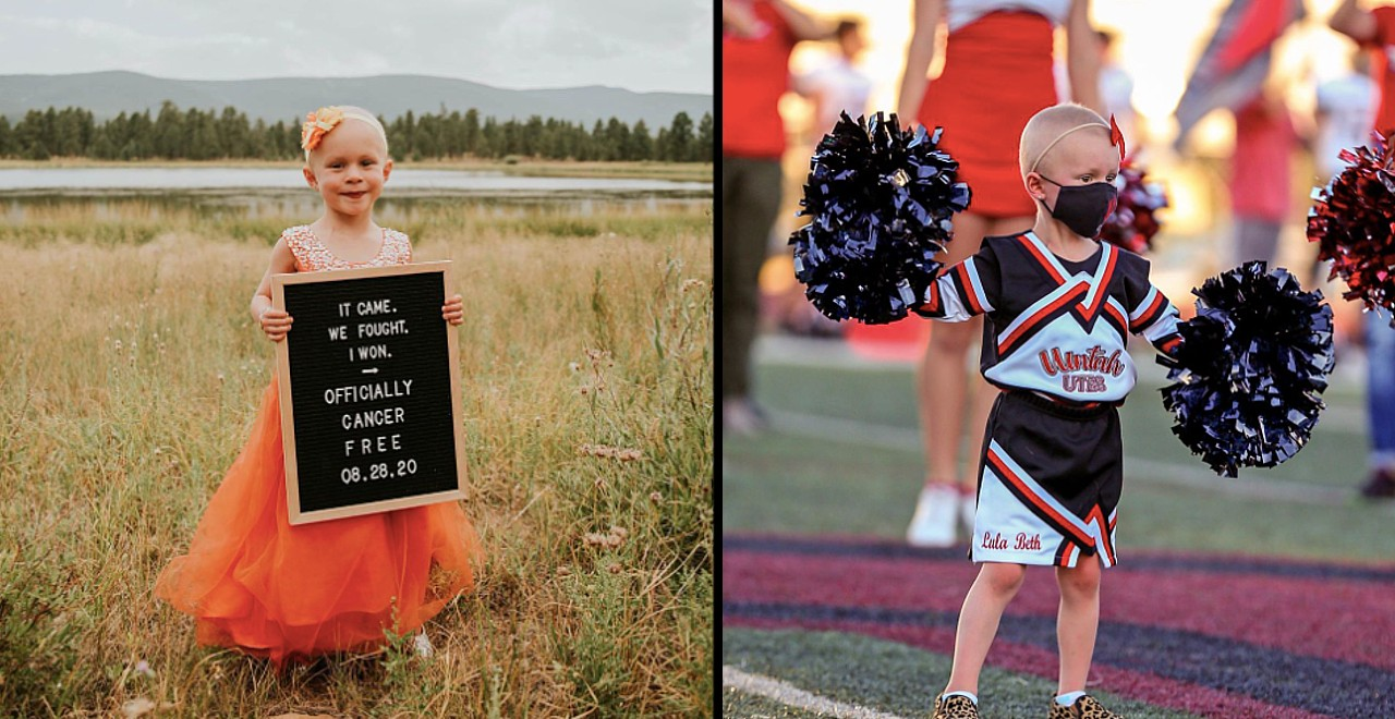 4-year-old beats cancer, celebrates with photoshoot