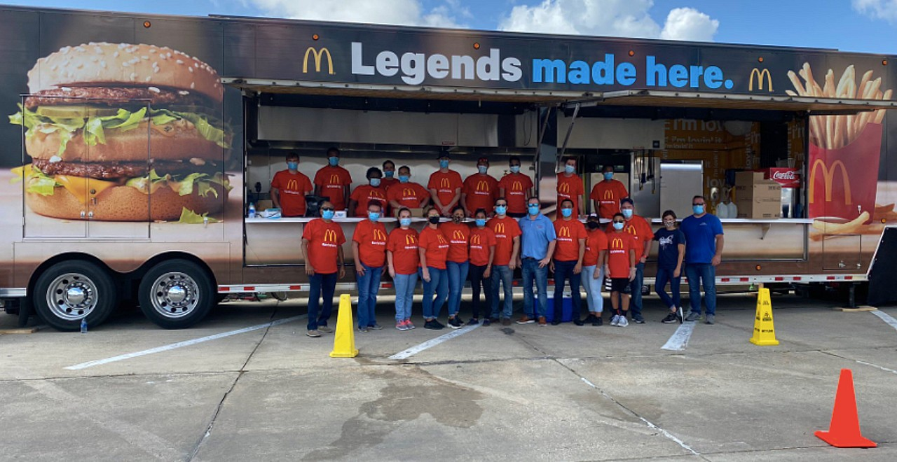 McDonald's Owner Gives Away Free Meals