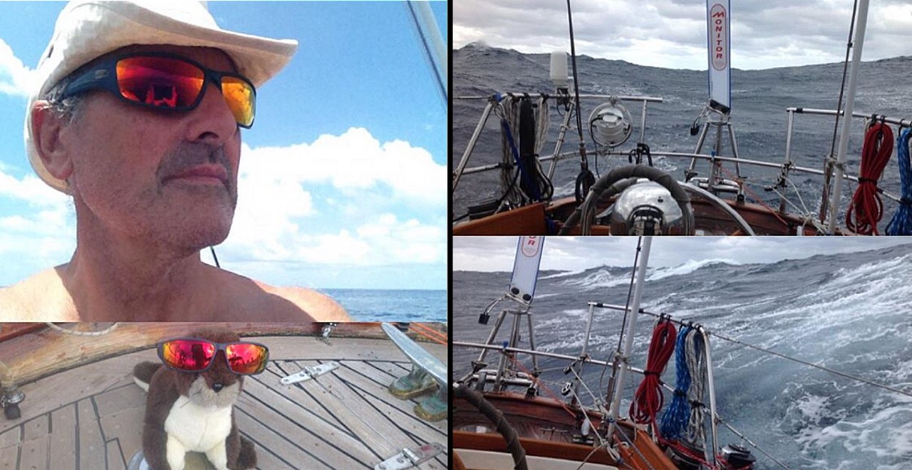 Canadian Dad Sails Around the World