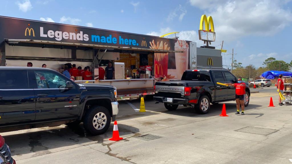 McDonald's Owner Donates Meals