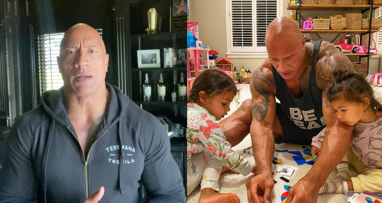 The Rock's Family got COVID-19