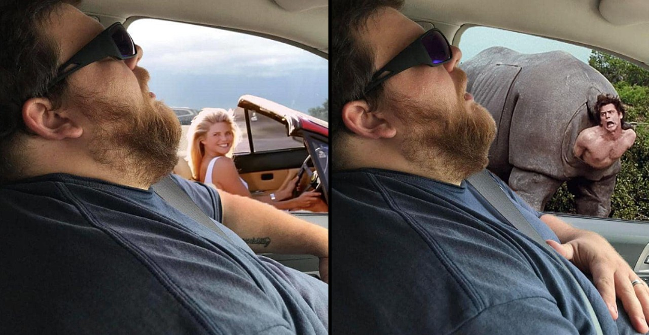 Wife's Prank On Husband Turns to Photoshop Battle
