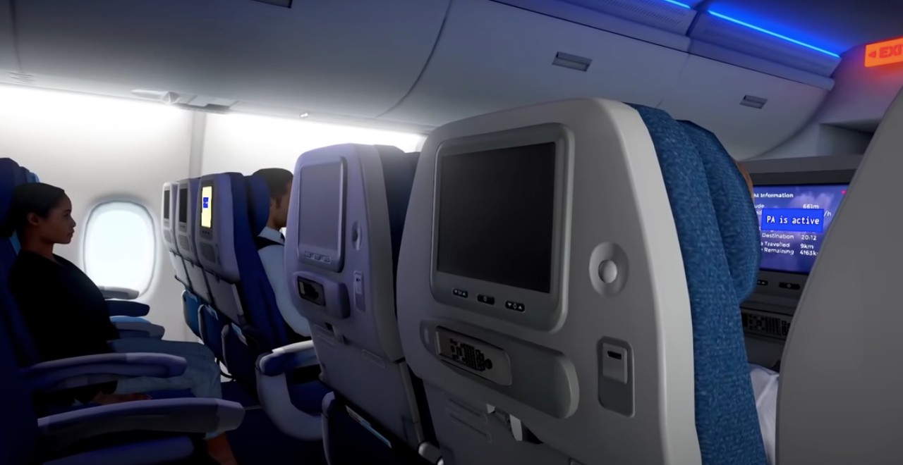 Airplane Mode Flight Simulator for Passengers