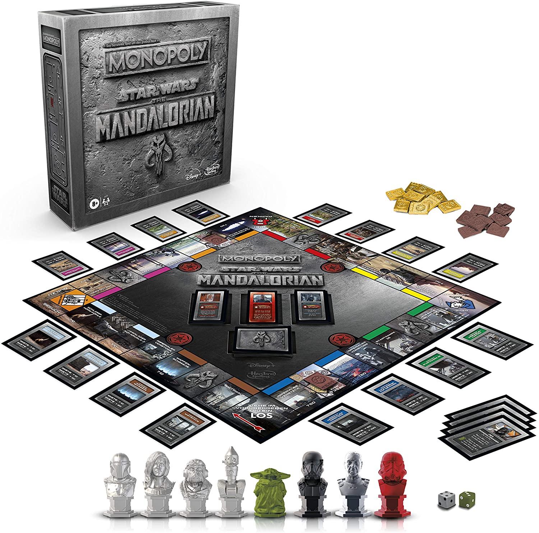 Mandalorian Monopoly Unboxed