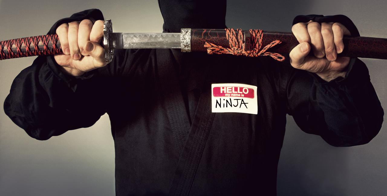 Man Goes to School to Be Ninja