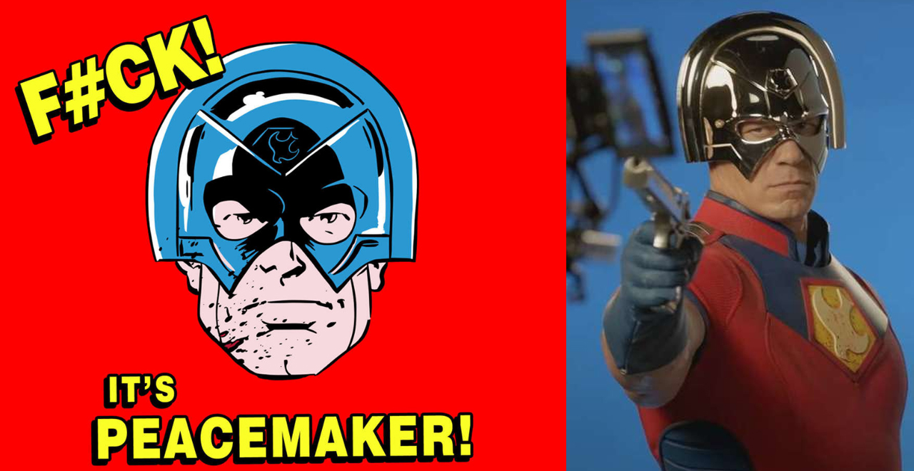 John Cena is Peacemaker