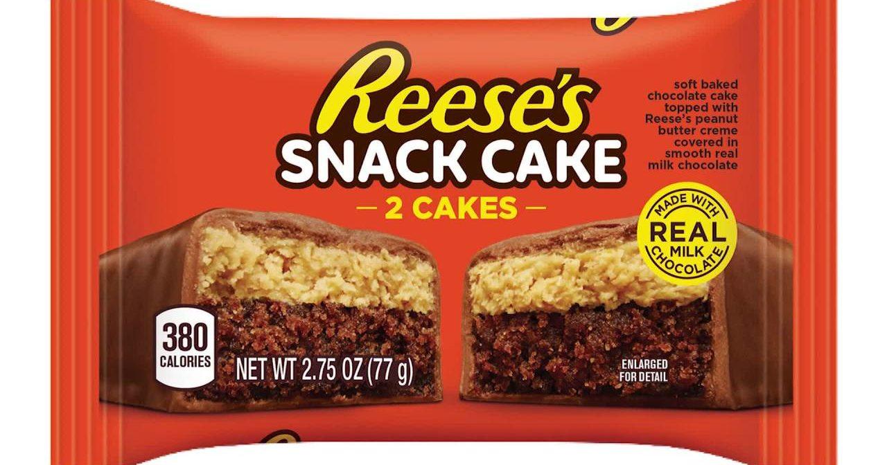 Reese's Breakfast Snack Cake