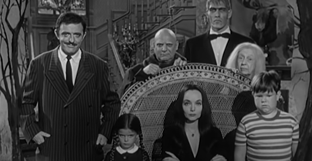 Tim Burton's Live Action Addams Family Series