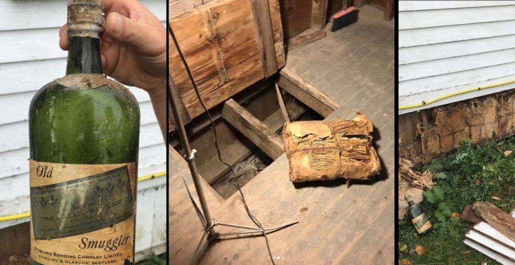 Bootlegged Whiskey Found During Reno