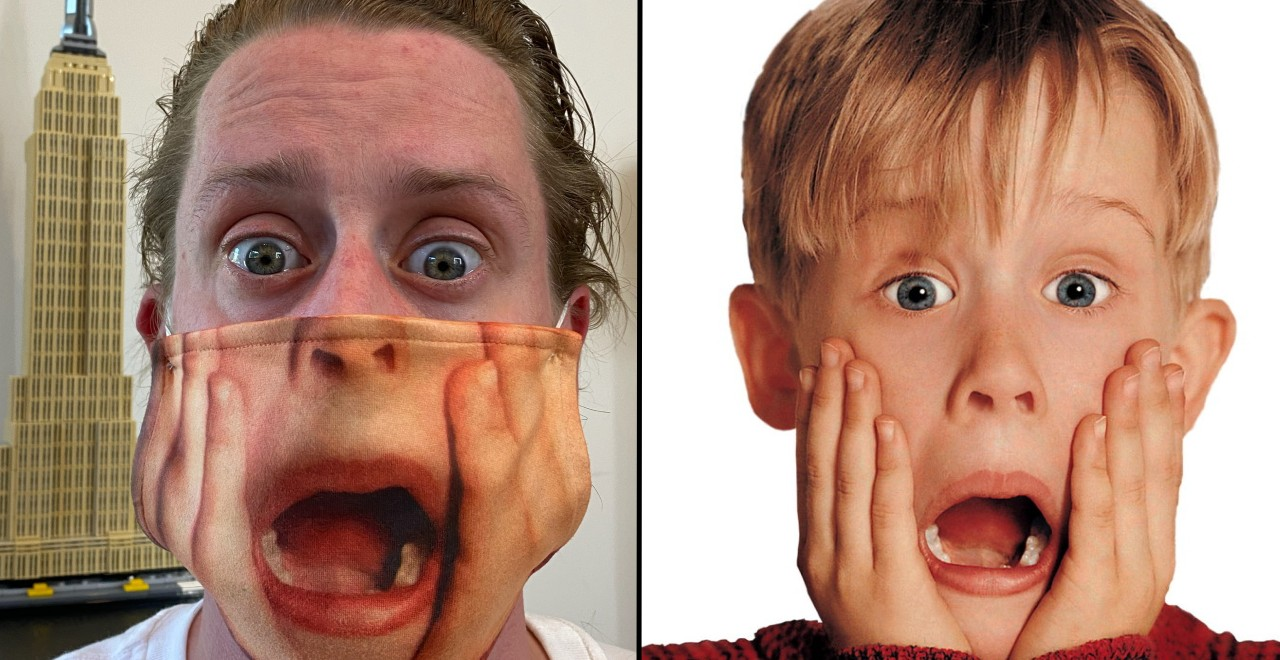 Culkin Home Alone Mask