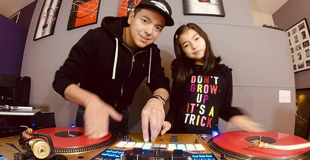Dad Daughter DJs