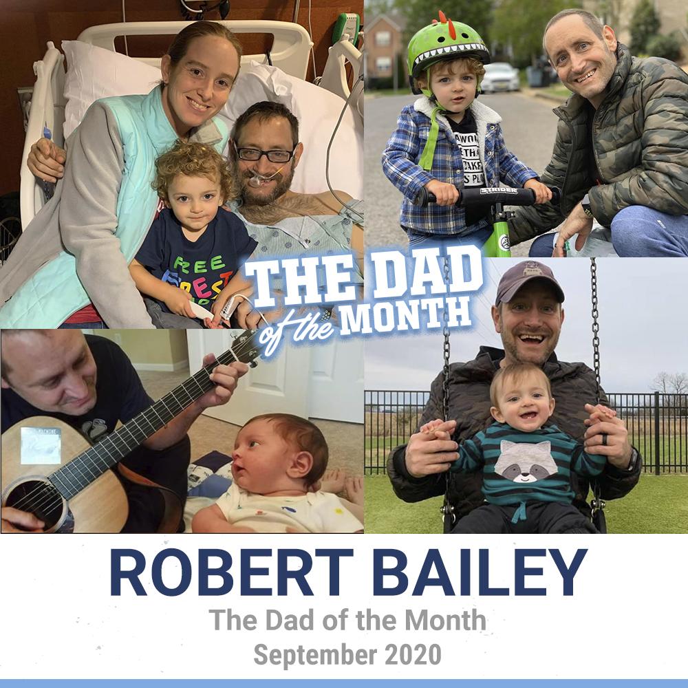 September 2020: Robert Bailey