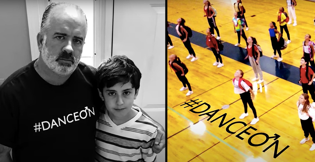 Dad starts nonprofit after son is bullied for dancing
