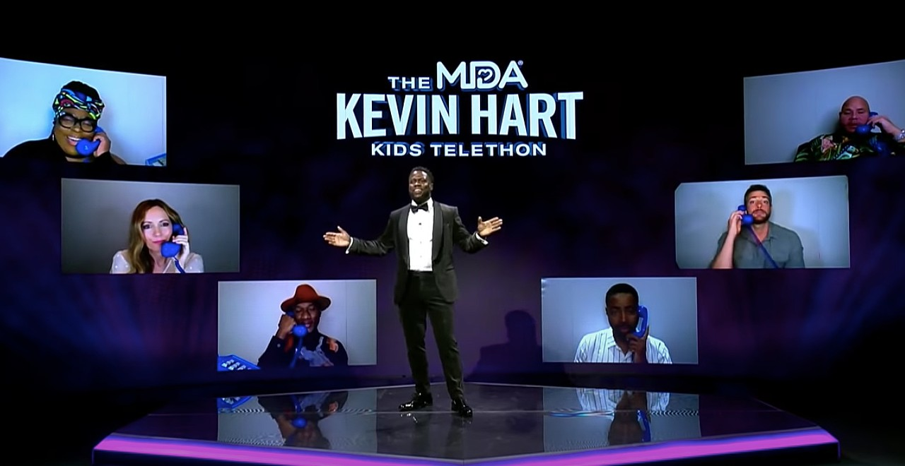 Kevin Hart Hosts Muscular Dystrophy Association Telethon