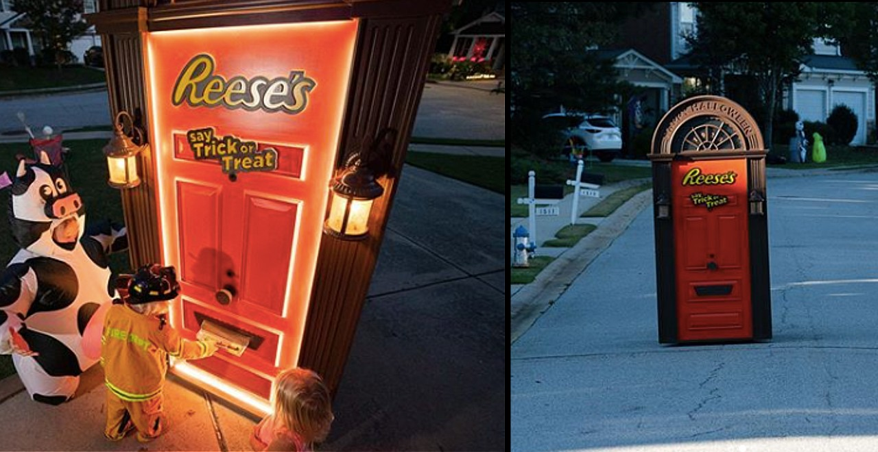 Reese's Candy-Dispensing Door