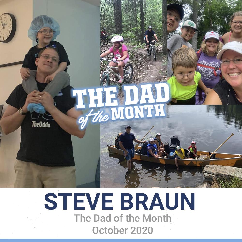 October 2020: Steve Braun