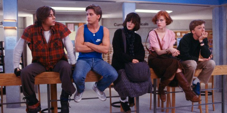 a still from The Breakfast Club