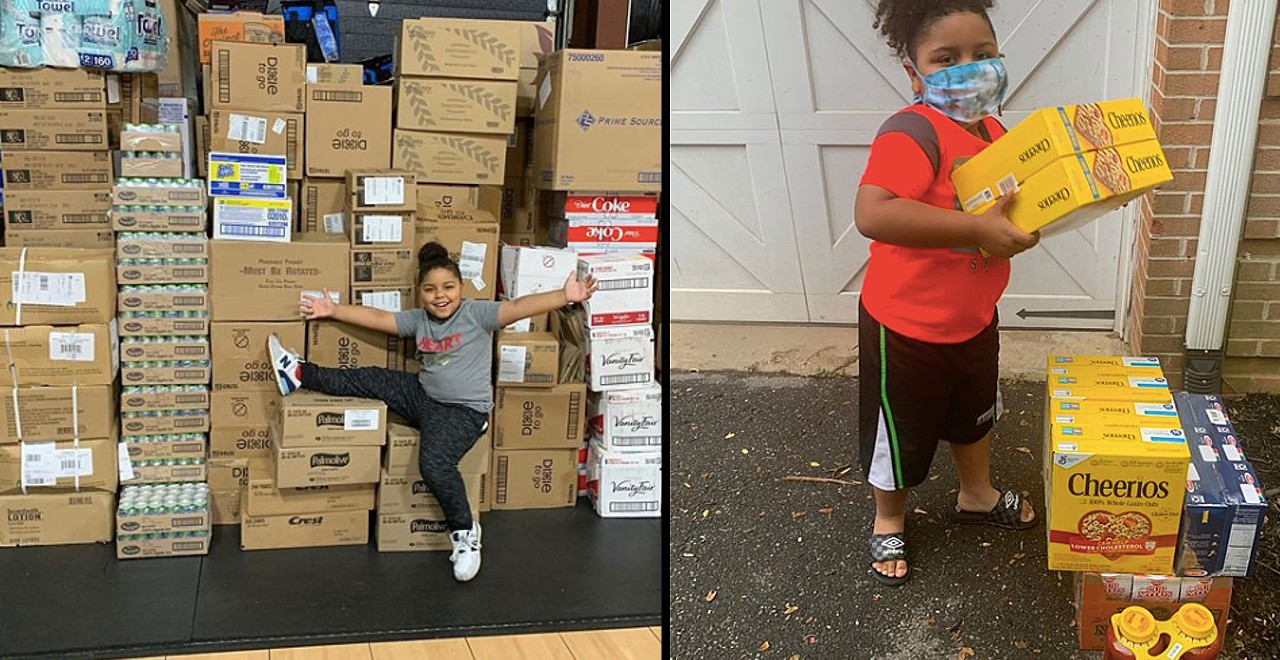 Bullied 7-year-old opens food pantry