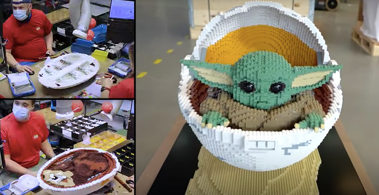 LEGO Baby Yoda Big Build