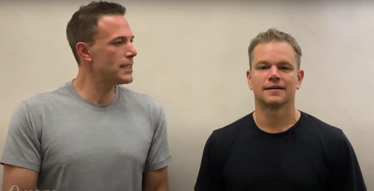 Affleck and Damon Roast