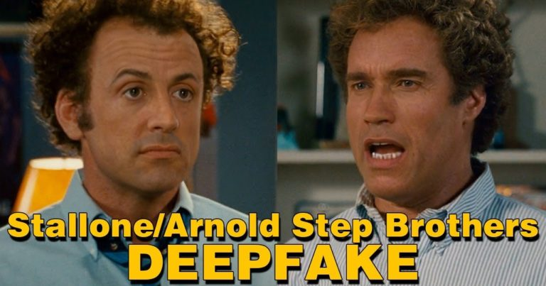 Arnold and Sly in Step Brothers